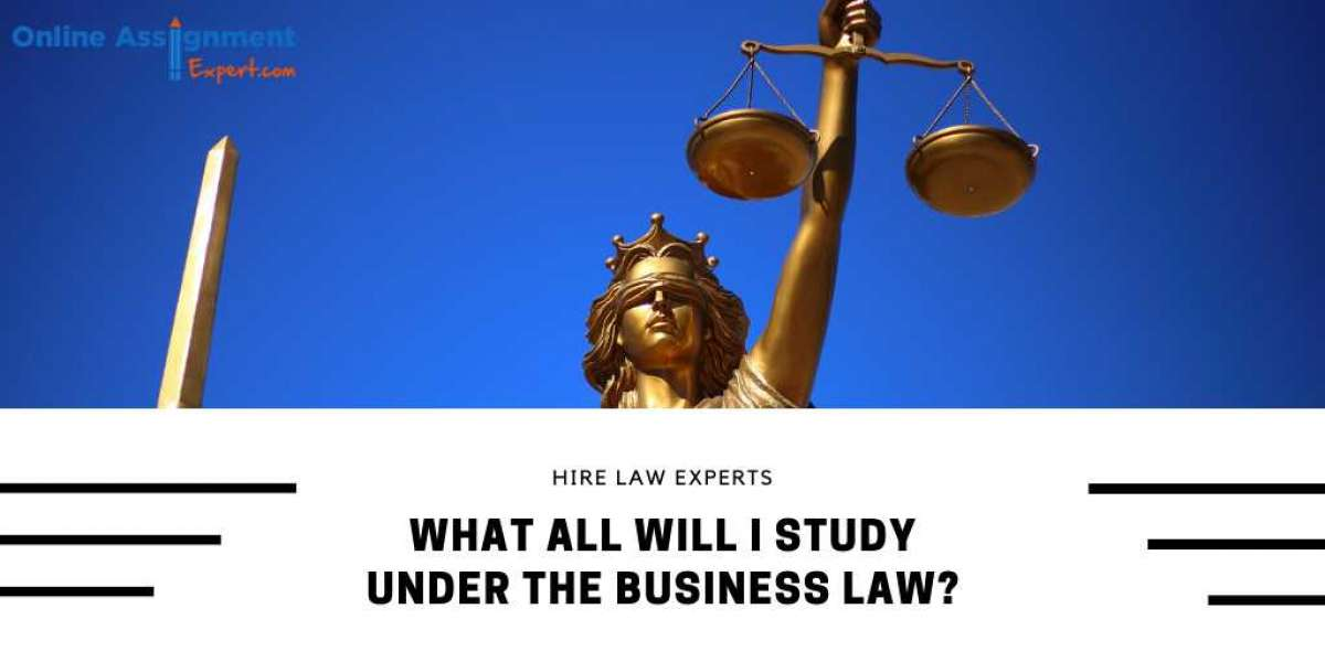 What All Will I Study Under The Business Law?