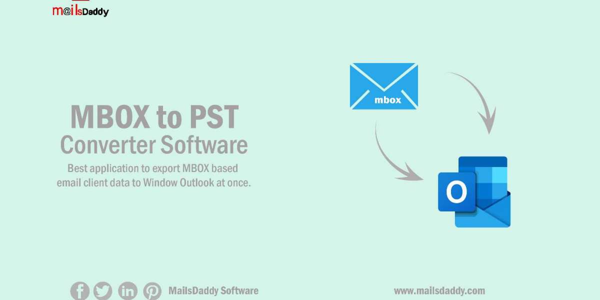 Export & Open MBOX file into Outlook PST format