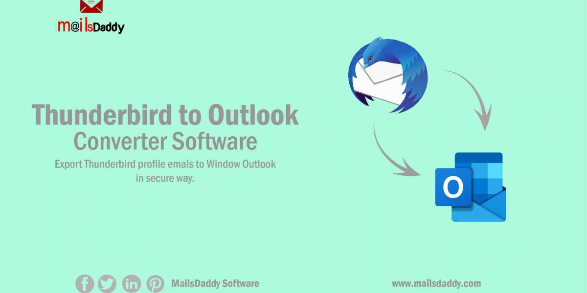 Thunderbird email converter to export email from Thunderbird to Outlook