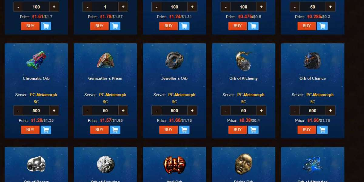 The best Marketplace to buy PoE chaos Orb
