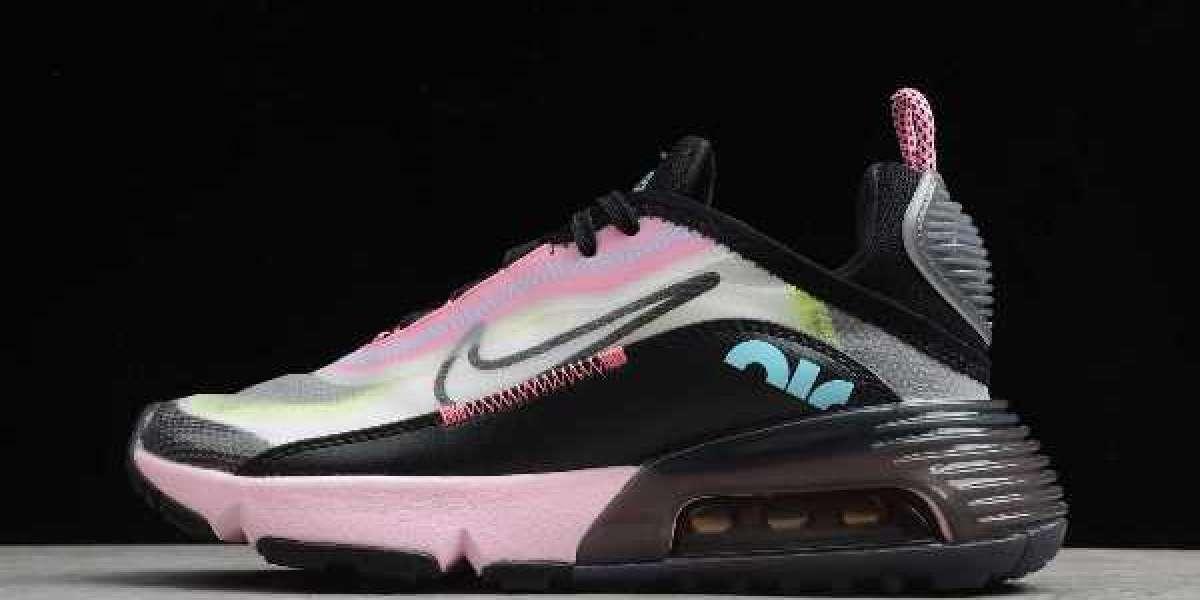 Nike Air Max 2090 Pink Foam Black CW4286-100 For Sale