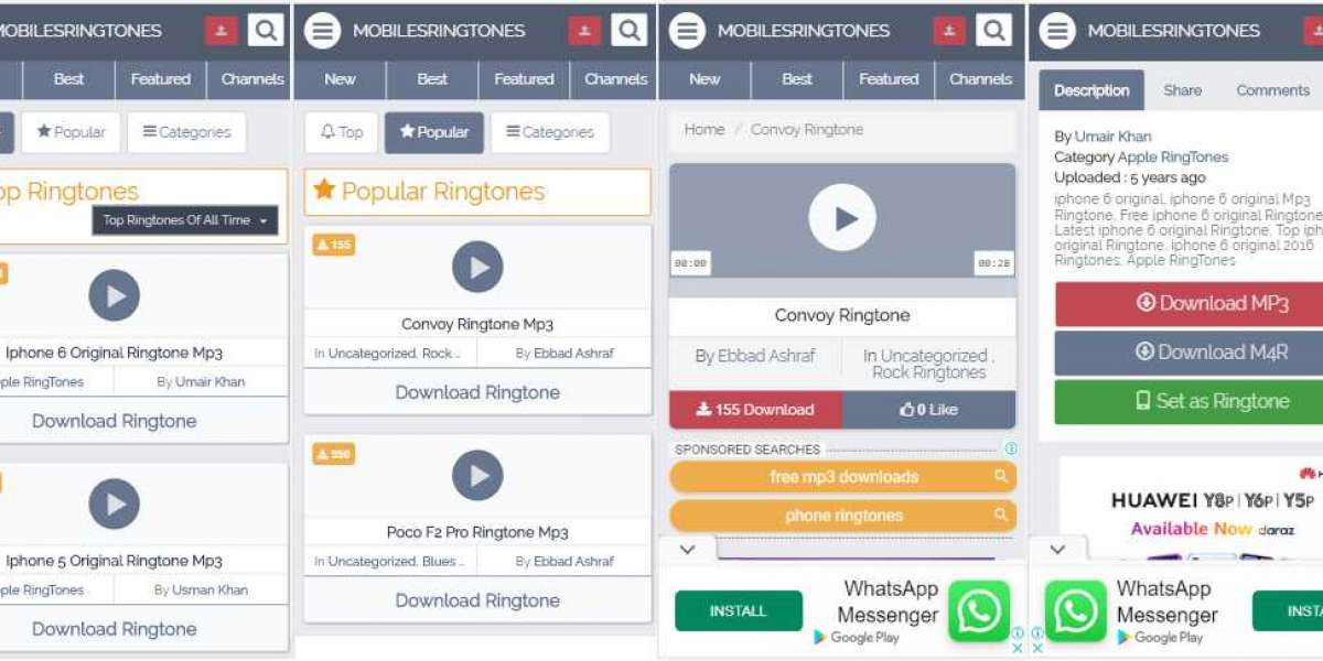 The coolest website to download all types of ringtones both iPhone m4r ringtones and mp3 ringtones