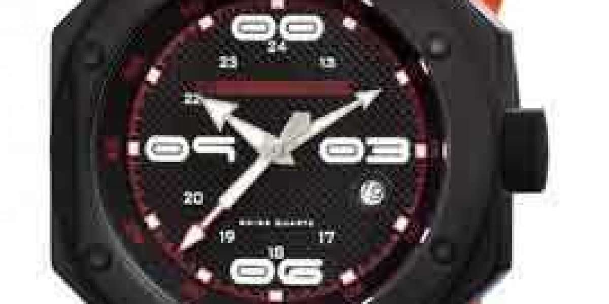 Nice Affordable Custom Black Watch Face
