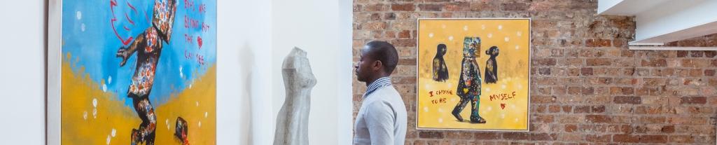 Buhle Nkalashe - Reawakening Solo Exhibition, South African Visual Artist