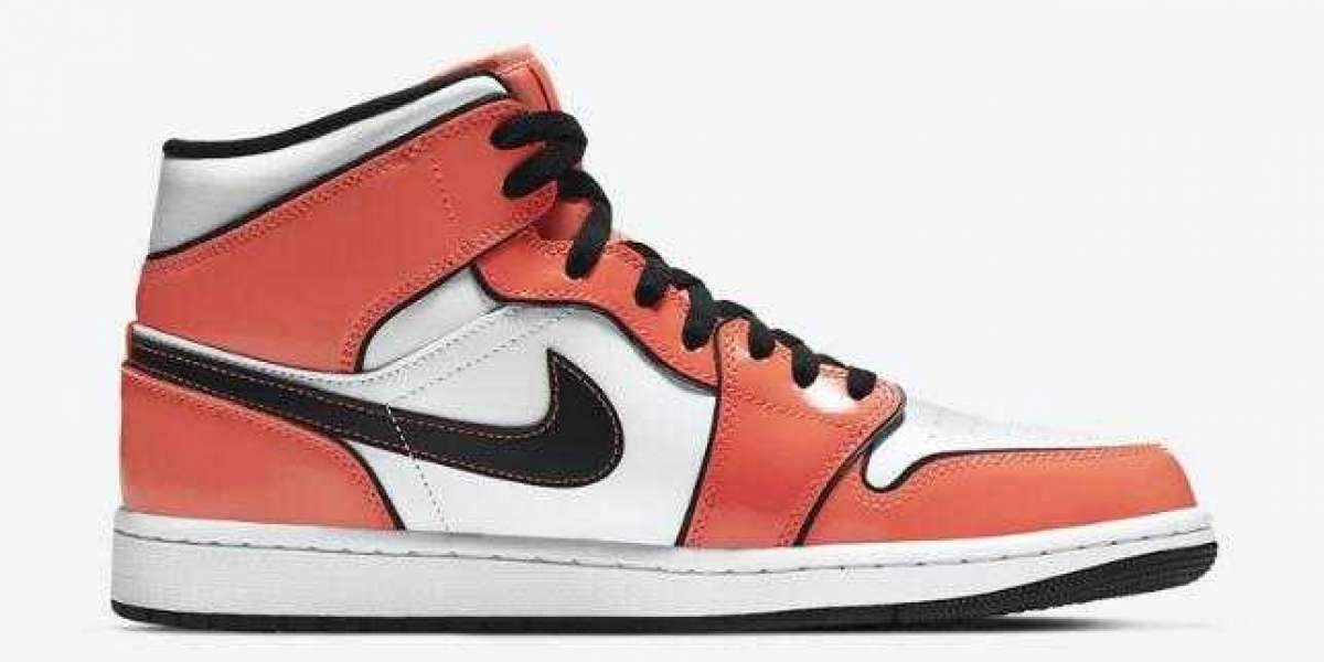 DD6834-802 Air Jordan 1 Mid Turf Orange Releasing Soon