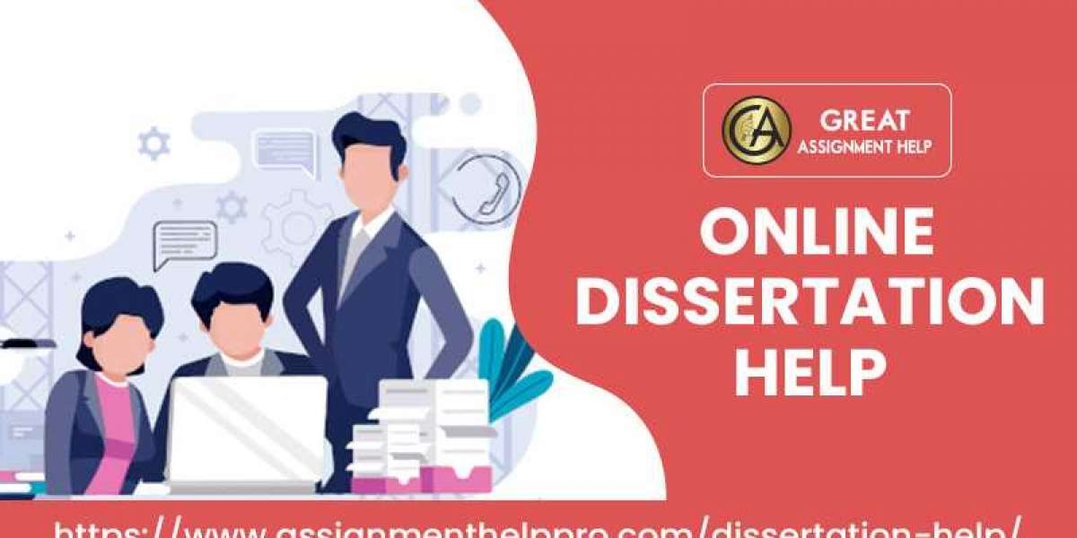 Get an expert dissertation help service from our dedicated team