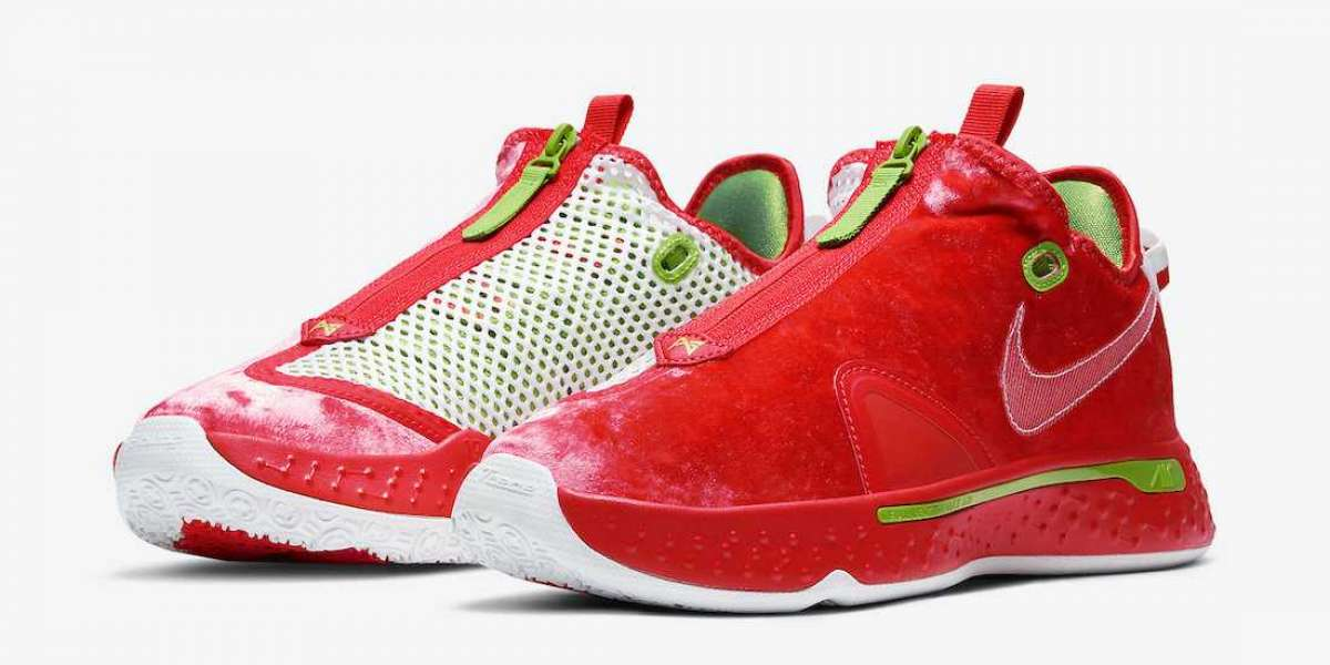 """Most Popular Nike PG 4 """"Christmas"""" CD5082-602 Release Information"""
