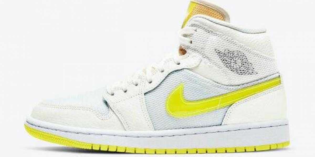 Black Friday DB2822-107 Air Jordan 1 Mid Voltage Yellow Shoes