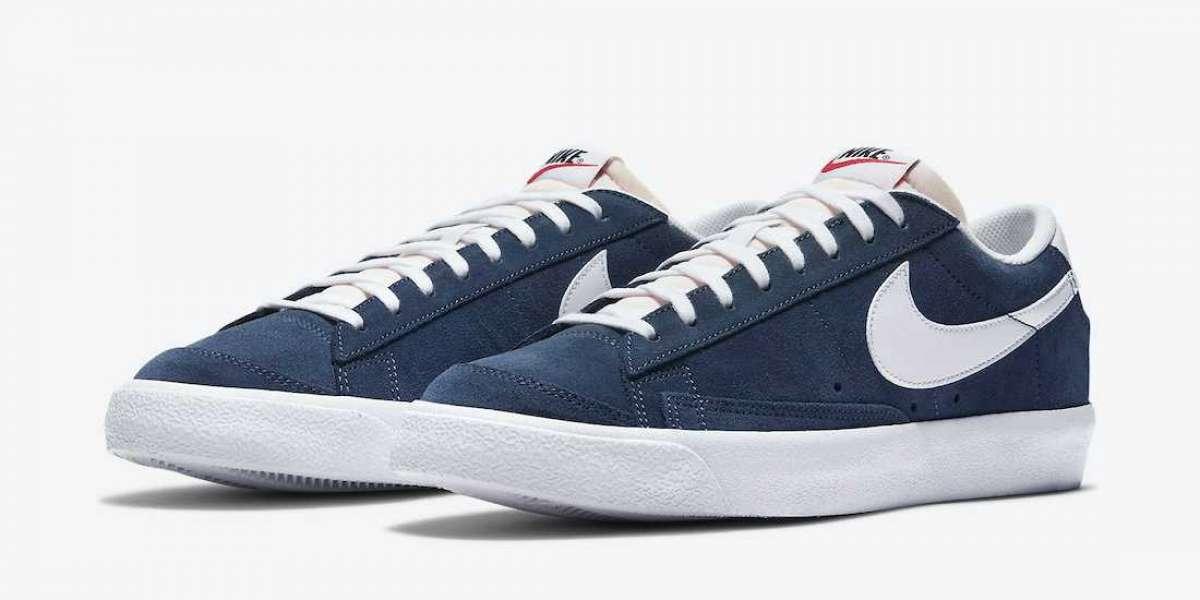 Nike Blazer Low Suede Navy Blue DA7254-400