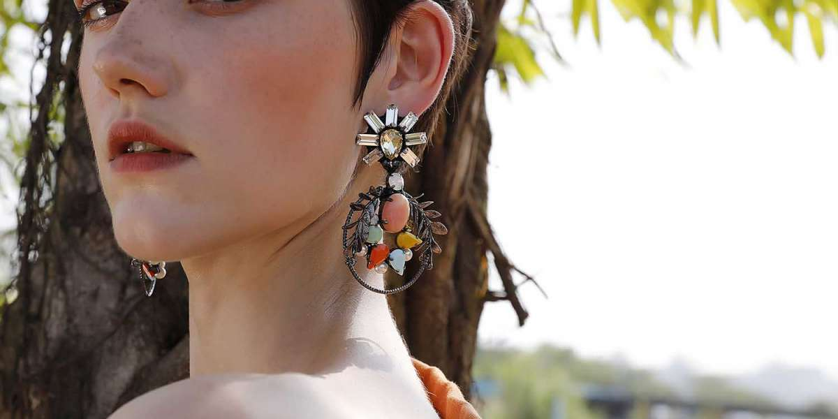 Over Sized Tribe earrings