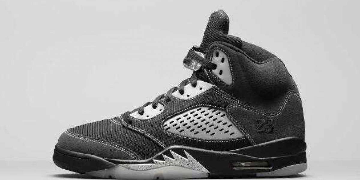Air Jordan 5 Anthracite Wolf Grey-Clear-Black to Release on February 24, 2021