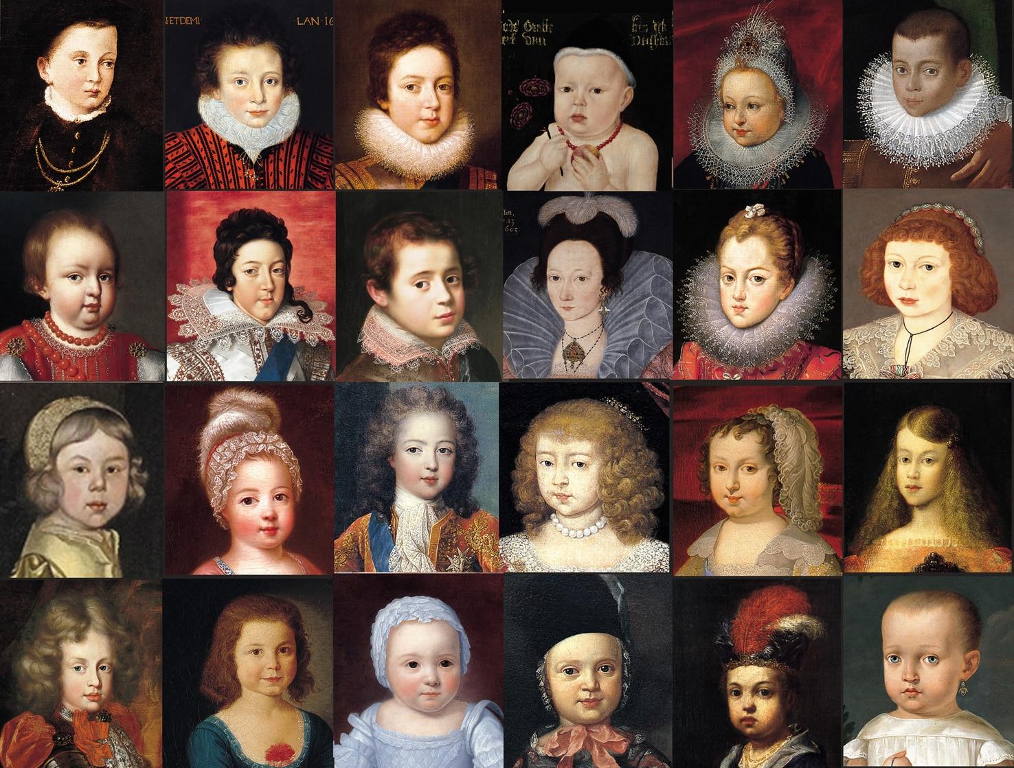 """Nins"" Portraits of Children"