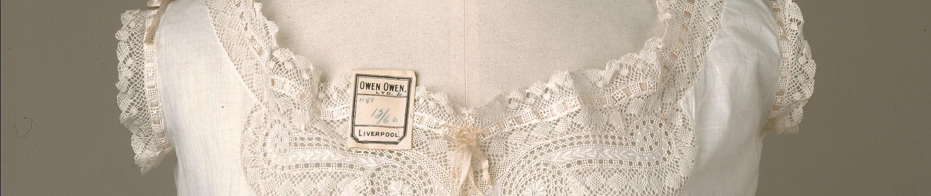 An English lady's wardrobe