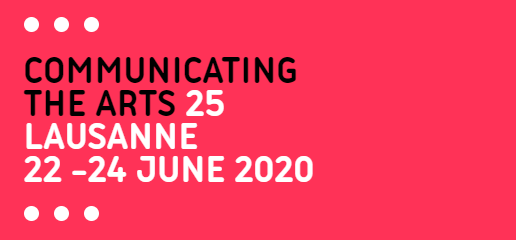 Communicating The Arts Lausanne 2020