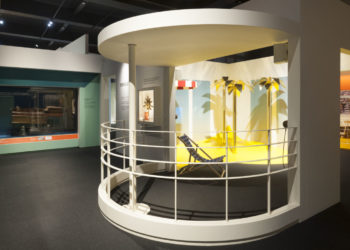 """Gallery view of """"The Sun: Living With Our Star"""" an exhibition tellingthe story of humankind's dependence on,and ever changing understandingof,our star."""