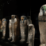 Remote couriering for the 'Egypt. Land of Discoveries' touring exhibition