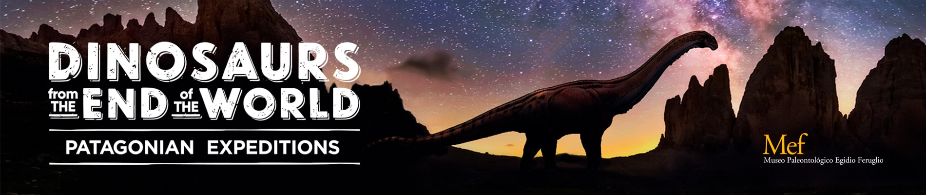 Dinosaurs from the end of the world
