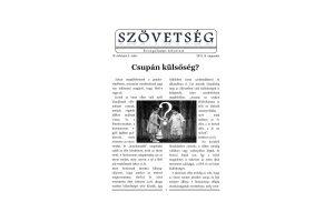 Szövetség újság 2019.III.
