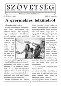 Szövetség újság 2020.III.
