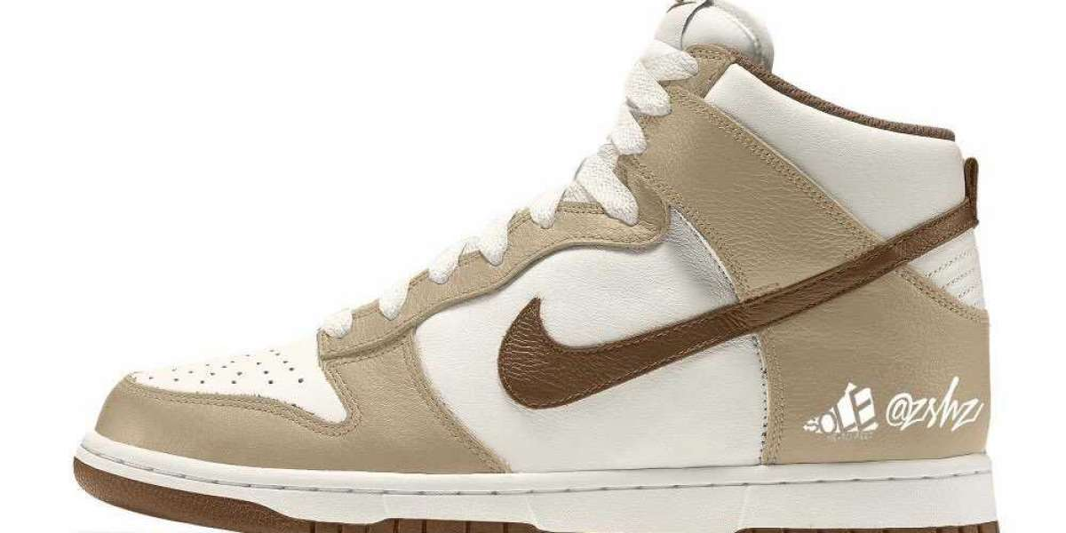 "DH5348-100 Nike Dunk High Premium‬""Light Chocolate"" to release sometime during August 2021"